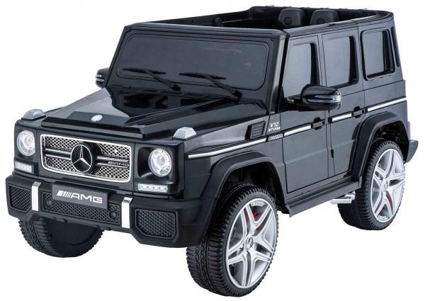 Masinuta electrica Premier Mercedes AMG G65, 12V, roti cauciuc EVA, scaun piele ecologica 0
