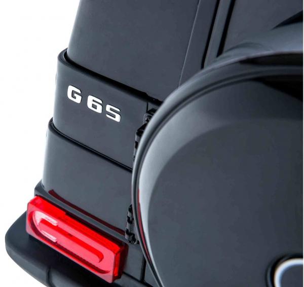 Masinuta electrica Premier Mercedes AMG G65, 12V, roti cauciuc EVA, scaun piele ecologica 9