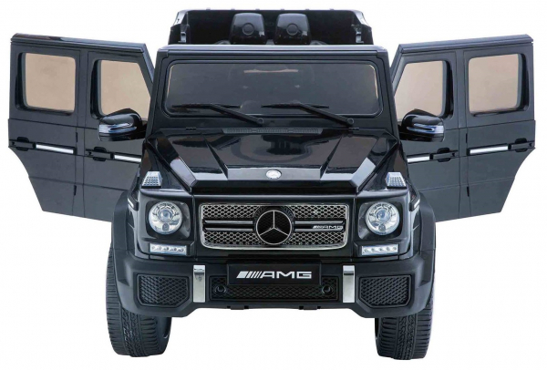 Masinuta electrica Premier Mercedes AMG G65, 12V, roti cauciuc EVA, scaun piele ecologica 1