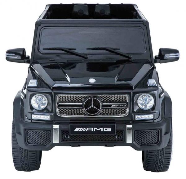 Masinuta electrica Premier Mercedes AMG G65, 12V, roti cauciuc EVA, scaun piele ecologica 2
