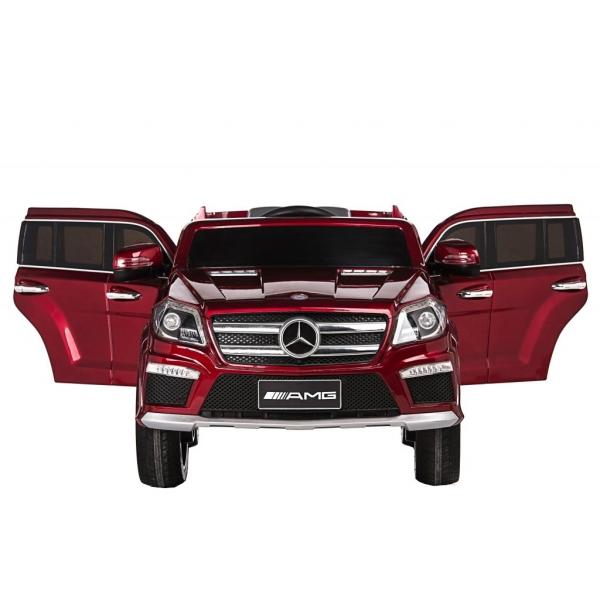 Masinuta electrica Premier Mercedes GL63, 12V, roti cauciuc EVA, scaun piele ecologica, rosu [4]