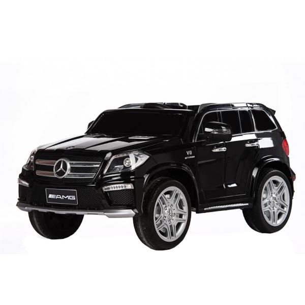 Masinuta electrica Premier Mercedes GL63, 12V, roti cauciuc EVA, scaun piele ecologica, negru [0]