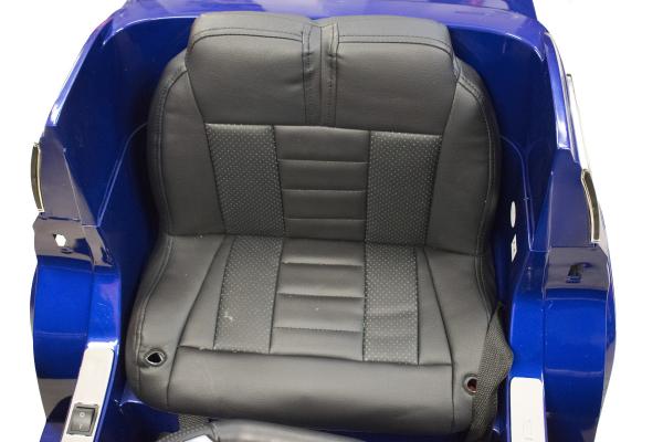 Masinuta electrica Premier Mercedes GL63, 12V, roti cauciuc EVA, scaun piele ecologica, albastra [6]