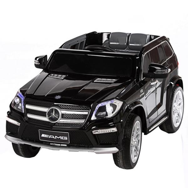 Masinuta electrica Premier Mercedes GL63, 12V, roti cauciuc EVA, scaun piele ecologica, negru [1]
