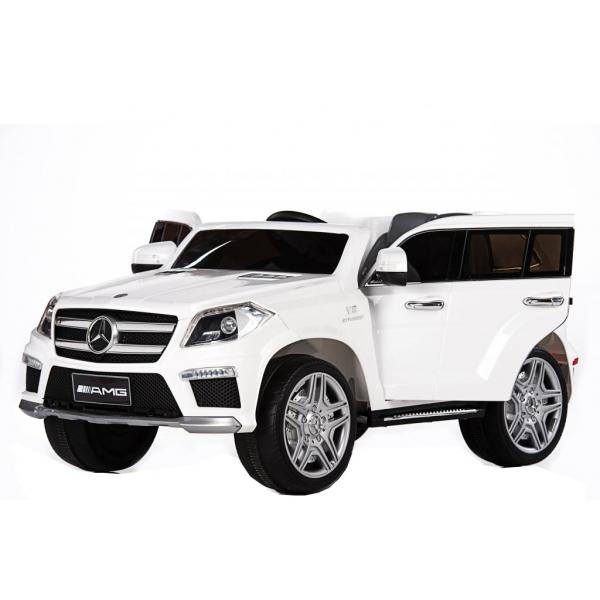 Masinuta electrica Premier Mercedes GL63, 12V, roti cauciuc EVA, scaun piele ecologica 0