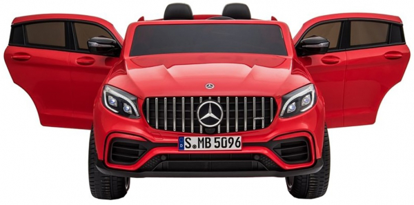 Masinuta electrica 4x4 Premier Mercedes GLC 63S Maxi, 12V, roti cauciuc EVA, scaun piele ecologica 6