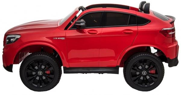 Masinuta electrica 4x4 Premier Mercedes GLC 63S Maxi, 12V, roti cauciuc EVA, scaun piele ecologica 3