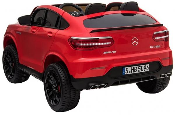 Masinuta electrica 4x4 Premier Mercedes GLC 63S Maxi, 12V, roti cauciuc EVA, scaun piele ecologica 4