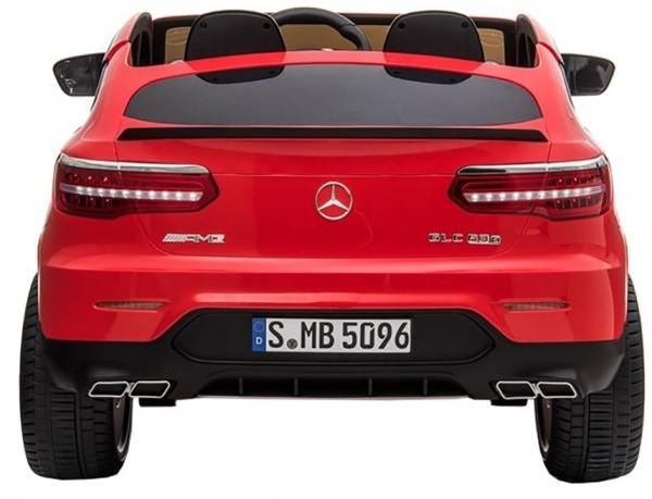 Masinuta electrica 4x4 Premier Mercedes GLC 63S Maxi, 12V, roti cauciuc EVA, scaun piele ecologica 5