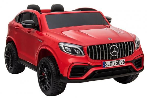Masinuta electrica 4x4 Premier Mercedes GLC 63S Maxi, 12V, roti cauciuc EVA, scaun piele ecologica 1