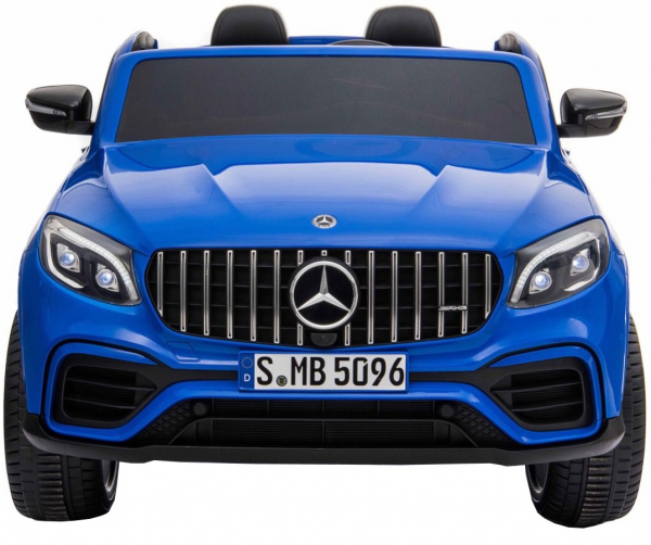 Masinuta electrica 4x4 Premier Mercedes GLC 63S Maxi, 12V, roti cauciuc EVA, scaun piele ecologica, albastru 1