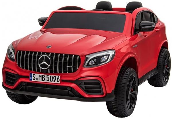 Masinuta electrica 4x4 Premier Mercedes GLC 63S Maxi, 12V, roti cauciuc EVA, scaun piele ecologica 0