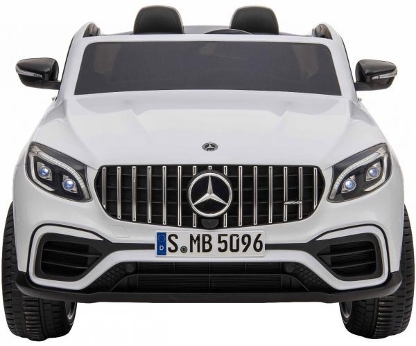Masinuta electrica 4x4 Premier Mercedes GLC 63S Maxi, 12V, roti cauciuc EVA, scaun piele ecologica, alb 1