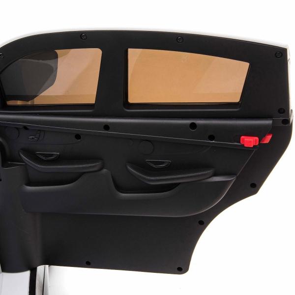 Masinuta electrica 4x4 Premier Mercedes GLC 63S Maxi, 12V, roti cauciuc EVA, scaun piele ecologica, alb 10