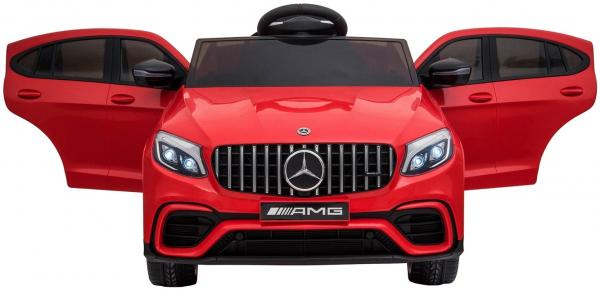 Masinuta electrica Mercedes GLC 63S, roti cauciuc EVA, scaun piele ecologica 2