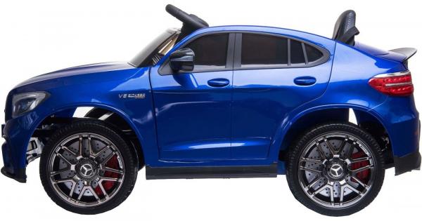 Masinuta electrica Premier Mercedes GLC 63S, 12V, roti cauciuc EVA, scaun piele ecologica 3