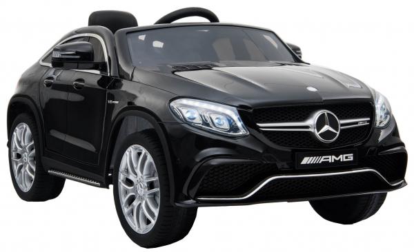Masinuta electrica Premier Mercedes GLE 63 Coupe, 12V, roti cauciuc EVA, scaun piele ecologica, neagra [3]