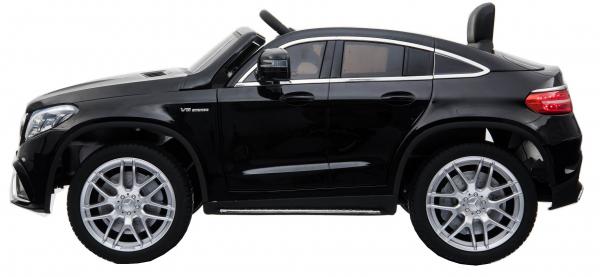 Masinuta electrica Premier Mercedes GLE 63 Coupe, 12V, roti cauciuc EVA, scaun piele ecologica, neagra [2]