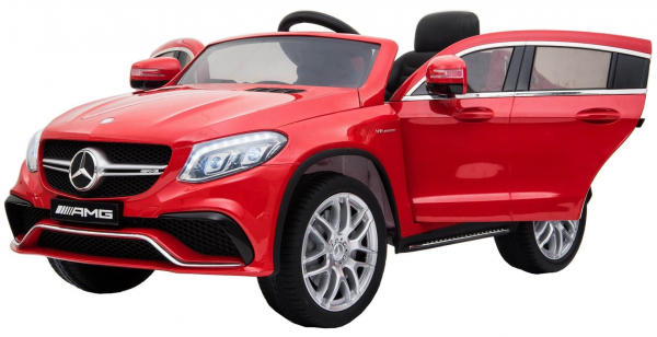 Masinuta electrica Premier Mercedes GLE 63 Coupe, 12V, roti cauciuc EVA, scaun piele ecologica 4