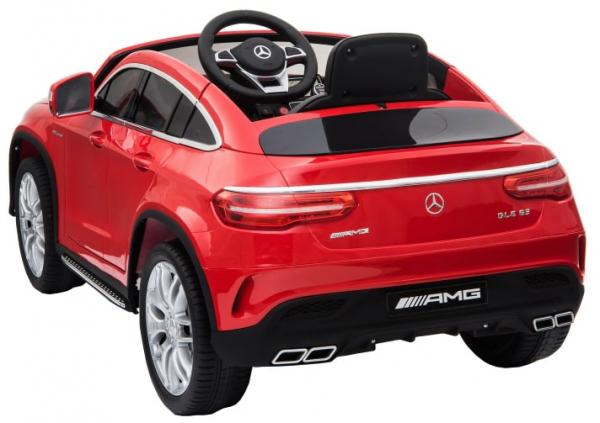 Masinuta electrica Premier Mercedes GLE 63 Coupe, 12V, roti cauciuc EVA, scaun piele ecologica 3
