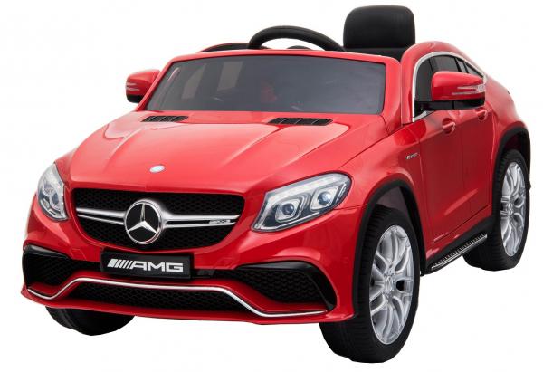 Masinuta electrica Premier Mercedes GLE 63 Coupe, 12V, roti cauciuc EVA, scaun piele ecologica 0