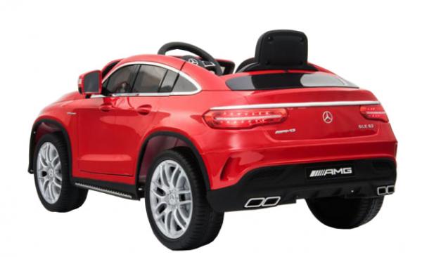 Masinuta electrica Premier Mercedes GLE 63 Coupe, 12V, roti cauciuc EVA, scaun piele ecologica 1