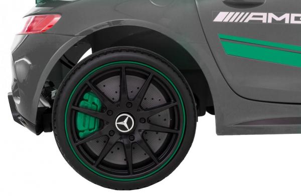 Masinuta electrica Premier Mercedes GT4, 12V, roti cauciuc EVA, scaun piele ecologica 8