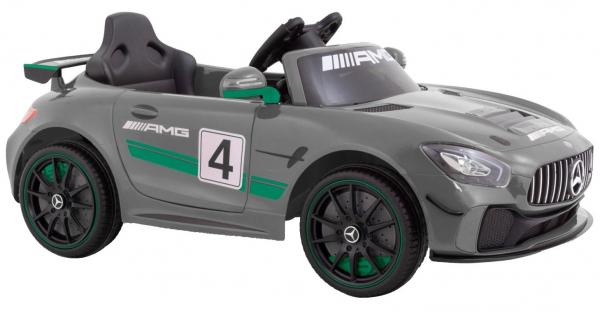 Masinuta electrica Premier Mercedes GT4, 12V, roti cauciuc EVA, scaun piele ecologica 1