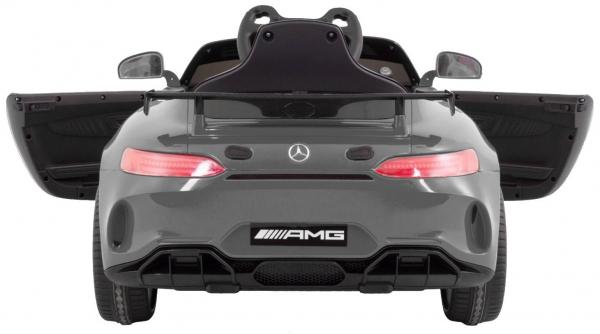 Masinuta electrica Premier Mercedes GT4, 12V, roti cauciuc EVA, scaun piele ecologica 4