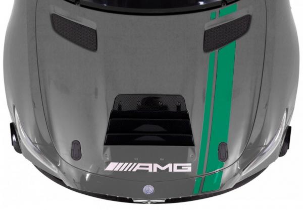 Masinuta electrica Premier Mercedes GT4, 12V, roti cauciuc EVA, scaun piele ecologica 2