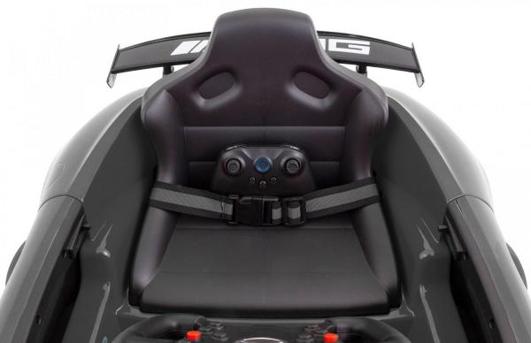 Masinuta electrica Premier Mercedes GT4, 12V, roti cauciuc EVA, scaun piele ecologica 5