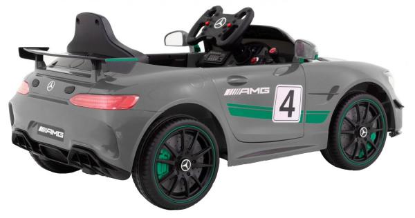 Masinuta electrica Premier Mercedes GT4, 12V, roti cauciuc EVA, scaun piele ecologica 6
