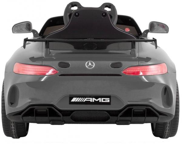 Masinuta electrica Premier Mercedes GT4, 12V, roti cauciuc EVA, scaun piele ecologica 3