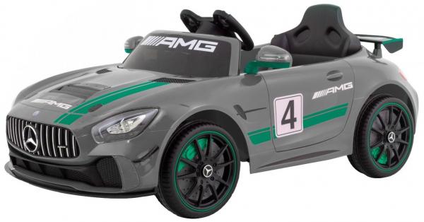 Masinuta electrica Premier Mercedes GT4, 12V, roti cauciuc EVA, scaun piele ecologica 0