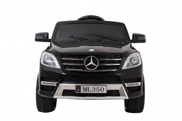 Masinuta electrica Premier Mercedes ML-350, 12V, roti cauciuc EVA, scaun piele ecologica, neagra 2
