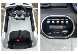 Masinuta electrica Premier Mercedes ML-350 4MATIC, 12V, roti cauciuc EVA, Bluetooth 3