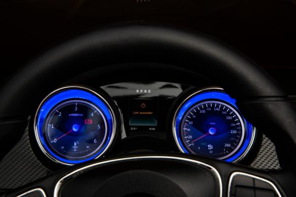 Masinuta electrica 4 x 4 Premier Mercedes X-Class, 12V, ecran LCD, MP4, roti cauciuc EVA, scaun piele ecologica, albastru 13