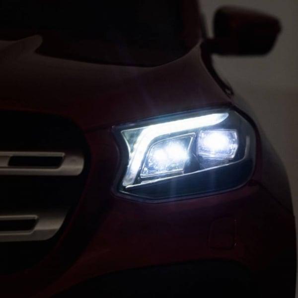 Masinuta electrica 4 x 4 Premier Mercedes X-Class, 12V, ecran LCD, MP4, roti cauciuc EVA, scaun piele ecologica, albastru 11