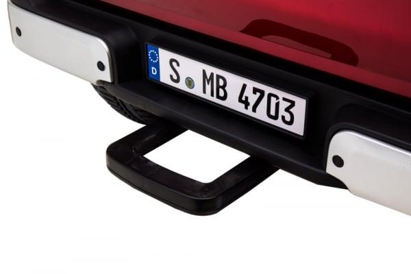 Masinuta electrica 4 x 4 Premier Mercedes X-Class, 12V, MP4, roti cauciuc EVA, scaun piele ecologica 7