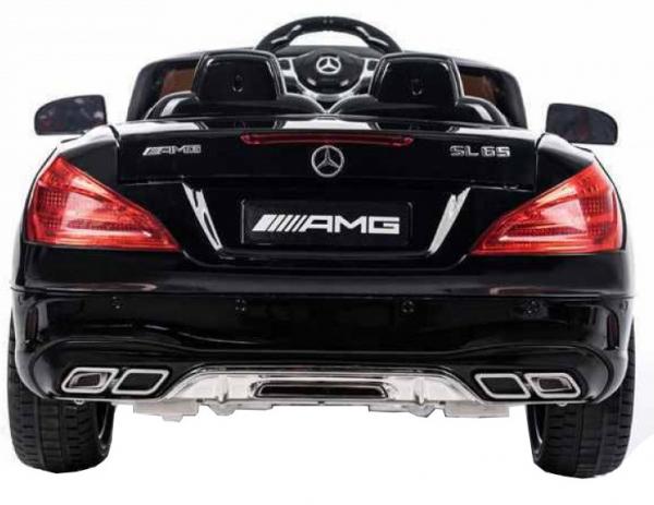 Masinuta electrica Premier Mercedes SL65 AMG, 12V, roti cauciuc EVA, scaun piele ecologica [1]