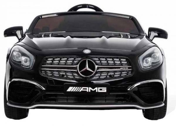 Masinuta electrica Premier Mercedes SL65 AMG, 12V, roti cauciuc EVA, scaun piele ecologica [5]