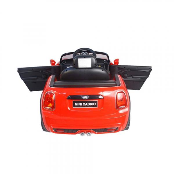 Masinuta electrica Premier Mini Cooper Cabrio, 12V, portiere, slow start 6