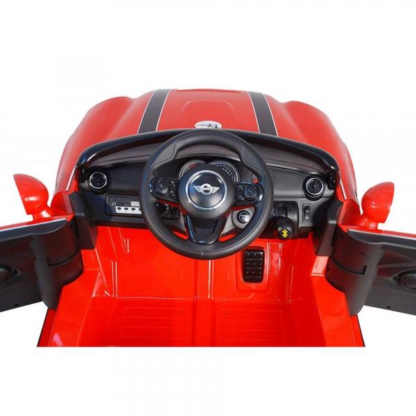 Masinuta electrica Premier Mini Cooper Cabrio, 12V, portiere, slow start 2