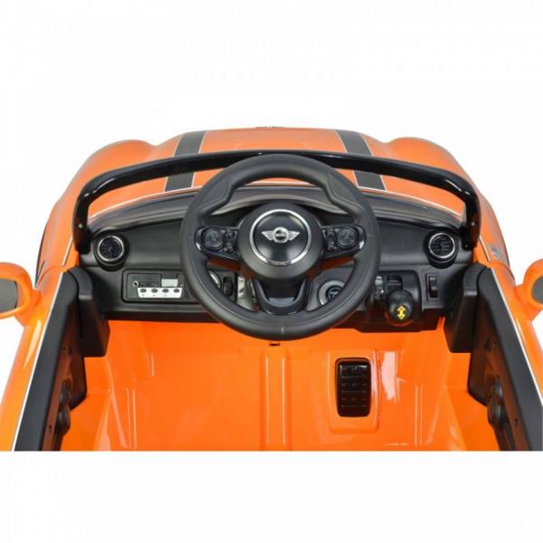 Masinuta electrica Mini Cooper Cabrio cu portiere care se deschid si slow start 2
