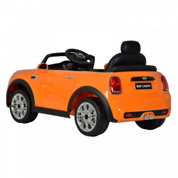 Masinuta electrica Mini Cooper Cabrio cu portiere care se deschid si slow start 1