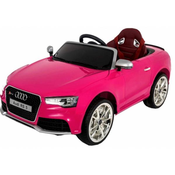 Masinuta electrica Premier Audi RS5, 12V, roti cauciuc EVA, scaun piele ecologica 6