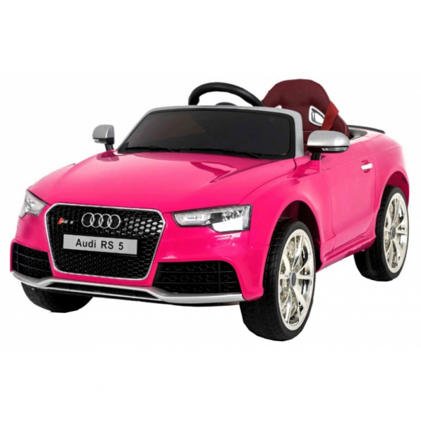Masinuta electrica Premier Audi RS5, 12V, roti cauciuc EVA, scaun piele ecologica 2