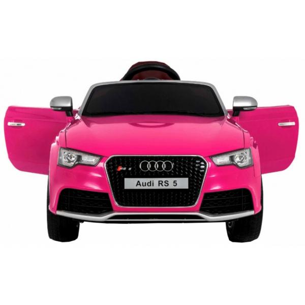 Masinuta electrica Premier Audi RS5, 12V, roti cauciuc EVA, scaun piele ecologica 1