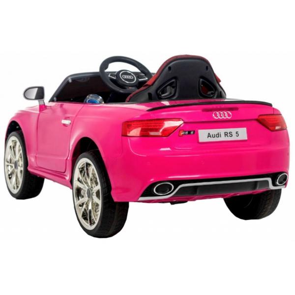Masinuta electrica Premier Audi RS5, 12V, roti cauciuc EVA, scaun piele ecologica 3