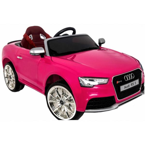 Masinuta electrica Premier Audi RS5, 12V, roti cauciuc EVA, scaun piele ecologica 7